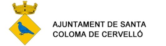 Logotip Ajuntament de Santa Coloma de Cervelló