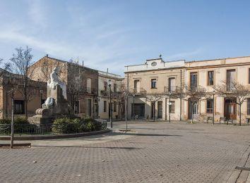 Fotografia de la Plaça de Joan Güell